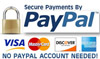 Payments secured with Paypal
